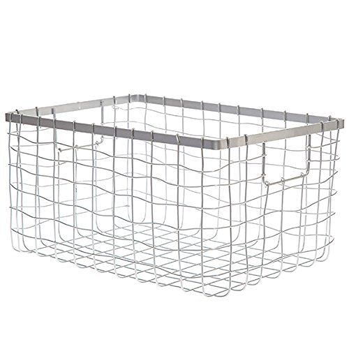 UPC 717964524878, The Lucky Clover Trading Silver Steel Wire Utility Basket, Small
