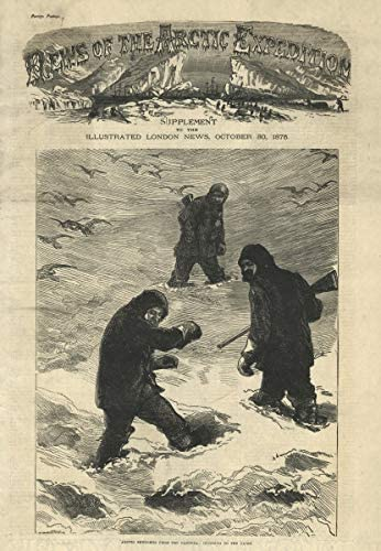Arctic Expedition. Pandora Sketches. Escalada a Cairn ...