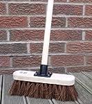 "10"" Stiff Sweeping Yard Brush, Natura..."