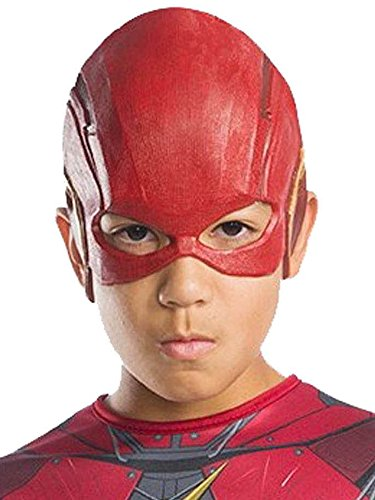 Rubie's Costume Boys Justice League Flash Half-Mask Costume, One Size]()