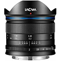 Venus Laowa 7.5mm f/2 Lens Lightweight for Micro Four Thirds Mount, Black