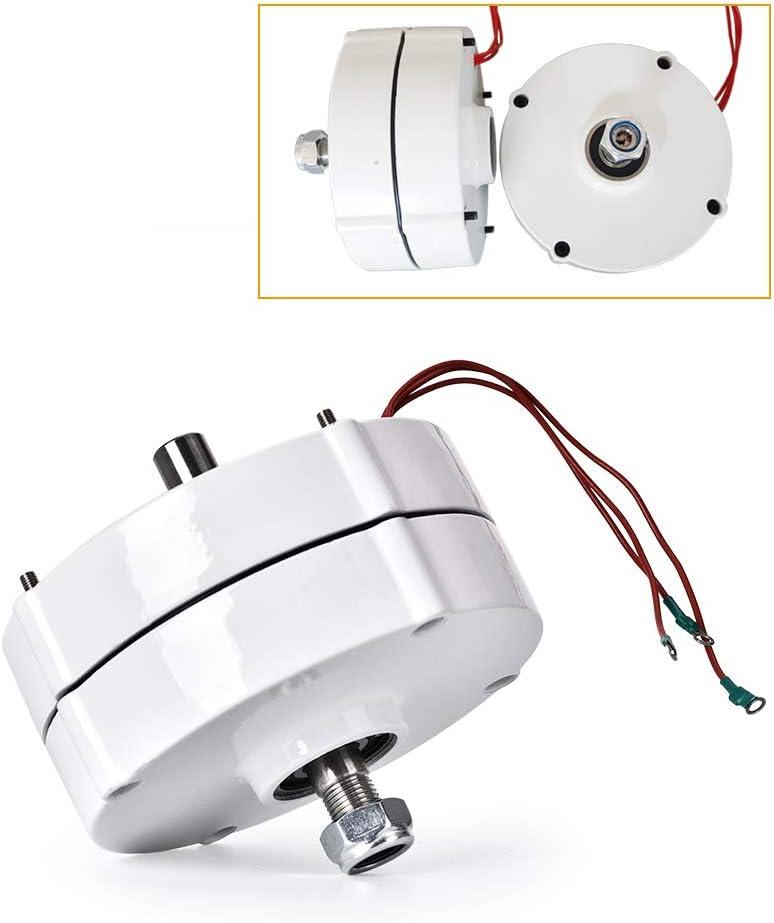 HUKOER Alternador de CA 750r / m 100W 12V con generador de imán permanente para turbina eólica vertical u horizontal