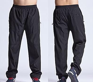 BOMOVO - Pantalón - para hombre negro EU XL/Asiático XXL: Amazon ...