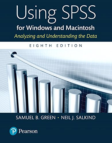 Using SPSS for Windows and Macintosh Books a la Carte (8th Edition)