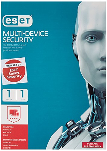 Eset Multi Device Smart Security - 1 Device, 1 Year (CD)- get buy 1 get 1 free plus chance to win weekly gifts