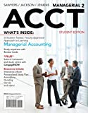 Managerial ACCT, Roby Sawyers and Steve Jackson, 1111822697