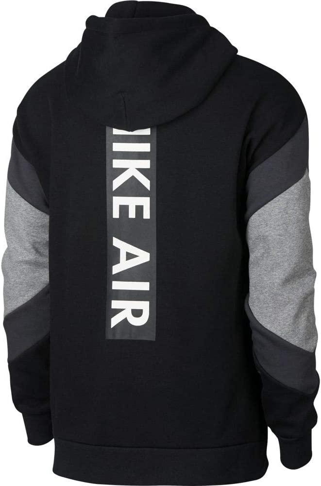Nike M NSW Air Hoodie FZ FLC Sweatshirt, Herren, Mehrfarbig