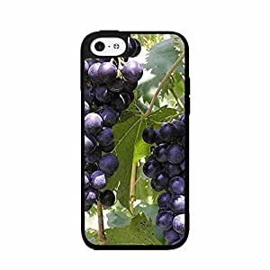 Diy iPhone 6 plus Grape Vine - Plastic with Phone Case Back results Cover (iPhone 6 plus of Black) shape