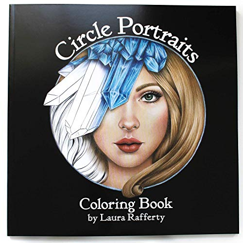 - Circle Portraits Coloring Book Signed First Edition