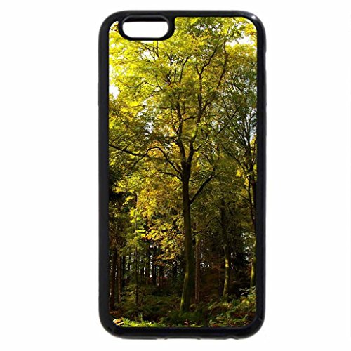 iPhone 6S Plus Case, iPhone 6 Plus Case, Pretty Green Forest