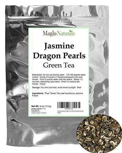 Imperial Jasmine Dragon Pearls - Loose Leaf Green Tea - Jasmine Green Tea with Amazing Aroma (4)