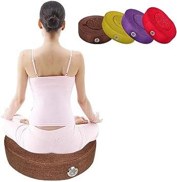 Moxibustión Cojín de asiento, cómodo Cojín de calefacción Moxa Caja Moxa Quemador Cojín Cuerpo Relajación Acupuntura Calor suave,Brown: Amazon.es: Salud y cuidado personal