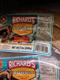 Richard's Mild Boudin Sausage 12 Oz (4 Pack)