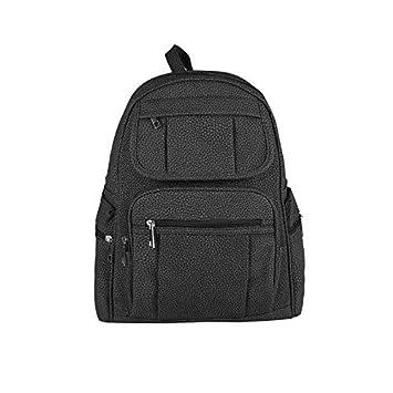OBC Cityrucksack Phoenix Rucksack City Tasche Stadtrucksack Backpack Schultertasche Organizer Tablet iPad Mini bis ca. 10 Zoll (Beige 26x28x10 cm)
