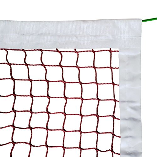 Aoneky Replacement Badminton Tournament Net with Steel Cable
