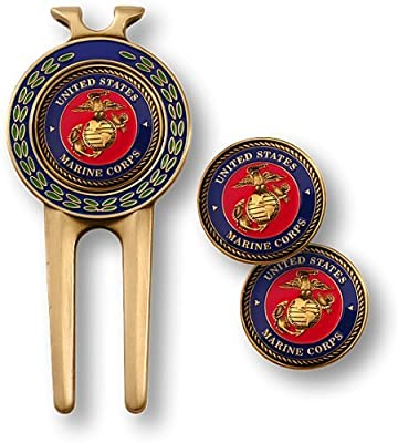 Marine Corps Divot Tool and Ball Markers