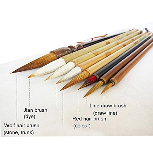 Buy chinese calligraphy brushes