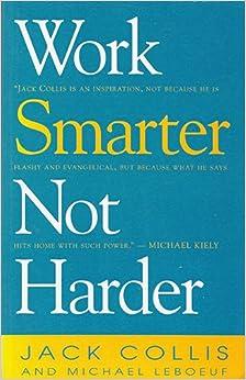 Book Work Smarter Not Harder