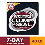 ARM & HAMMER Clump & Seal Platinum Cat Litter, Multi-Cat, 40 lb: more info