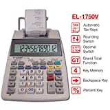 Sharp EL-1750V Two-Color Printing Calculator 2