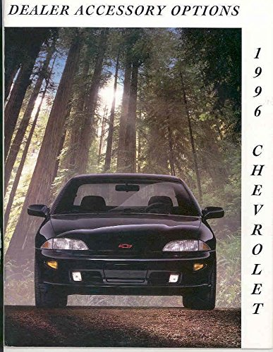 1996 Chevrolet Accessory Sale Brochure Corvette (Camaro Sales Brochure)