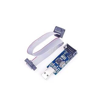 Angeek USB ISP - Programador USBASP con cable para Atmel AVR ...