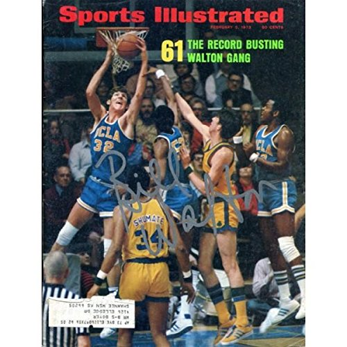 Bill Walton Autographed Sports Illustrated Magazine- February 5, 1973 - Autographed College Magazines Hollywood Collectibles