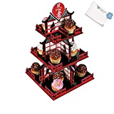 Bargain World Ninja Warriors Cupcake Holder (With Sticky Notes)