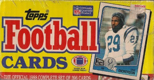 c0bbd26b9bc Amazon.com  1988 Topps Football Factory Sealed Set 396 Cards  Sports  Collectibles