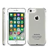 iphone 6 ti case - MobilePal Qi Wireless Charging Case for iPhone 7 and iPhone 6(s) [New 2017 Model] (Silver)