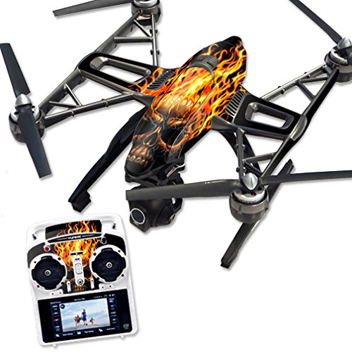 MightySkins-Protective-Vinyl-Skin-Decal-for-Yuneec-Q500-Q500-Quadcopter-Drone-wrap-cover-sticker-skins-Hot-Head