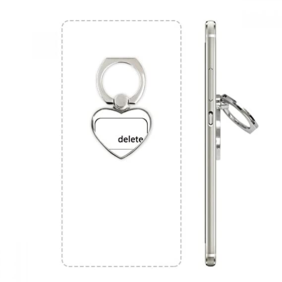 Amazon Keyboard Symbol Delete Heart Cell Phone Ring Stand