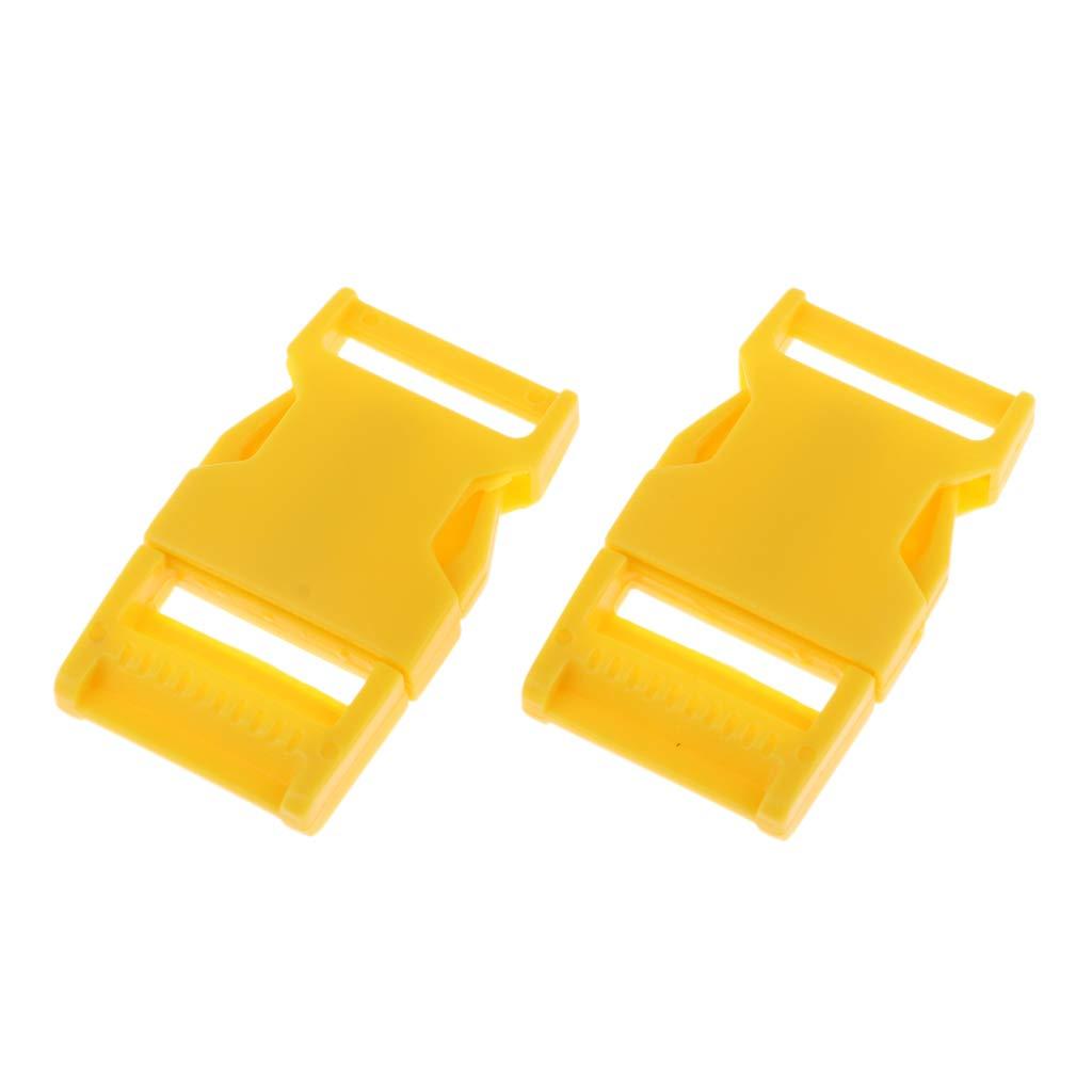 Non-brand 10er Plastik Seitliche Schnalle Gep/äcktasche Seitenschnallen F/ür 25mm 1 Blau