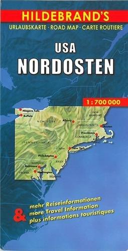 Hildebrand's Urlaubskarten, USA, Nordosten (Hildebrand's USA maps)