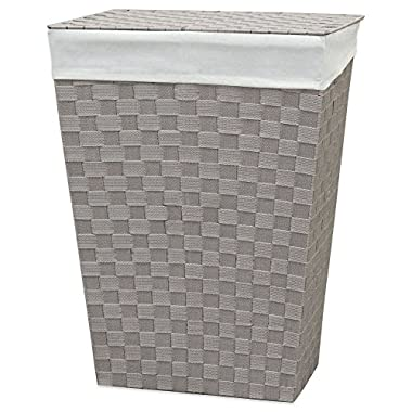 Grey Carly Hamper By Lamont Home