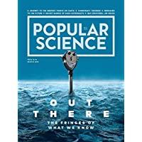 1-Year (4 Issues) of Popular Science Magazine Subscription