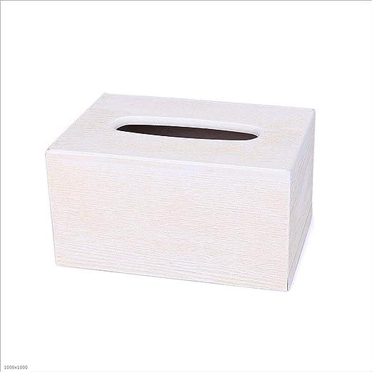 HRF0HLHY Caja de pañuelos,Caja de Madera del Tejido, Bandeja ...