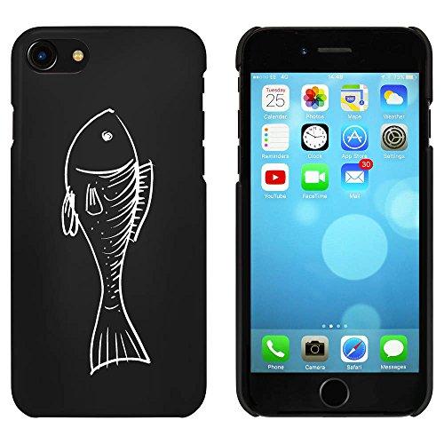 Noir 'Poisson' étui / housse pour iPhone 7 (MC00060315)