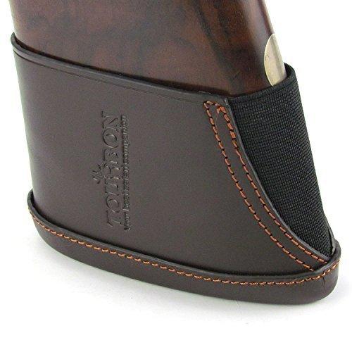 Tourbon Shotgun Stock Extension Genuine Leather Recoil Pad by TOURBON