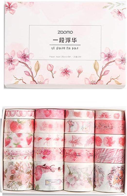 1 Rool  Washi Tape Scrapbook Bullet Journal Diary Tape  Width 3cm   Length 5 Meters Journal tape