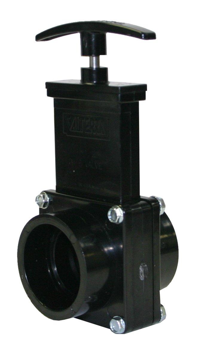 Valterra 7101 ABS Gate Valve, Black, 1-1/2'' Slip