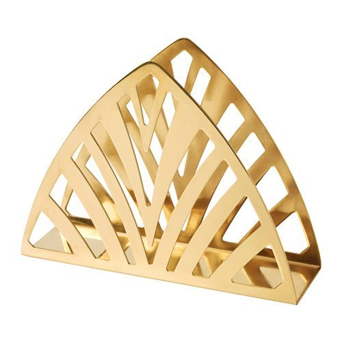 Ikea Napkin Holder - Ikea Napkin holder, brass color