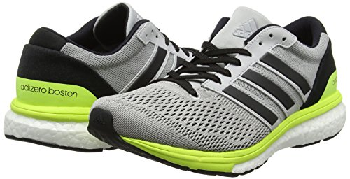 De Black grey Two 6 Running Boston core Chaussures solar W Adidas Femme Yellow Adizero Gris wFz7qxnCXE