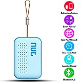 Smart Tag NUT Mini Bluetooth Anti-lost GPS Tracker Tracking Wallet Lugagge Pets Key Finder Locator Sensor Remote Alarm for iOS/ iPhone/ iPod/ iPad/ Android (Blue)