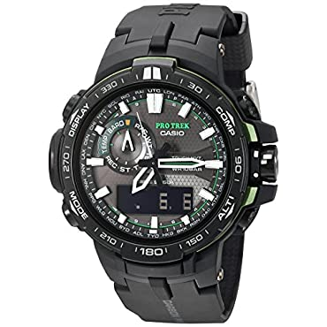 Casio PRW-6000Y-1ACR Pro Trek Black Analog-Digital Men's Watch