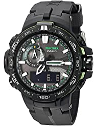 Casio Mens PRW-6000Y-1ACR Pro Trek Black Analog-Digital Sport Watch