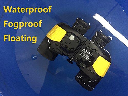 [해외]Hooway 7x50 방수 Fogproof 군사 마린 쌍안경 w 내부 레인지 파인더 & amp; /Hooway 7x50 Waterproof Fogproof Military Marine Binoculars w