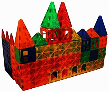Magnet Tiles Mag-Genius Magna Award Winning Building Magnetic Toy 182 pcs D16