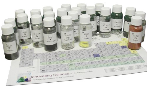 Innovating Science Chemical Element Observation Set (Includes Periodic Table)