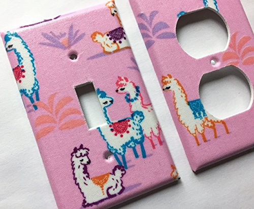 Llama Light Switch Cover - Various Sizes Offered